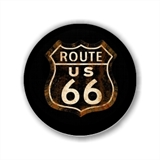 E567 - Route 66 - Botton ou Chaveiro